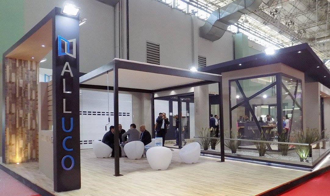 Stand Alluco au Salon de la Construction et du Bâtiment Carthage 2016